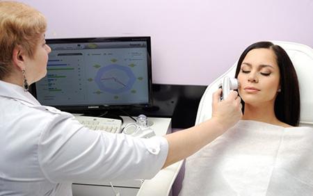Компьютерная диагностика - один их лучших способов точного определения состояния кожи пациента