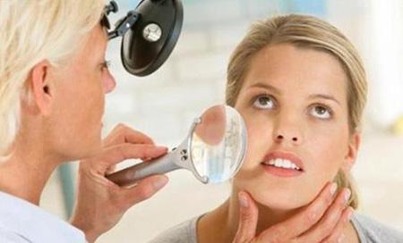 Гиперкератоз кожи лица