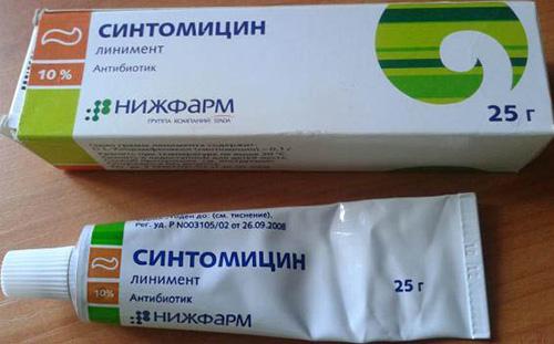 Синтомициновая мазь при фимозе