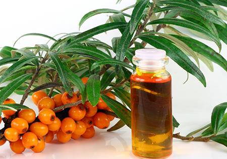 Облепиховое масло славится своими ранозаживляющими свойствами, поэтому в борьбе с экземой – это первый помощник
